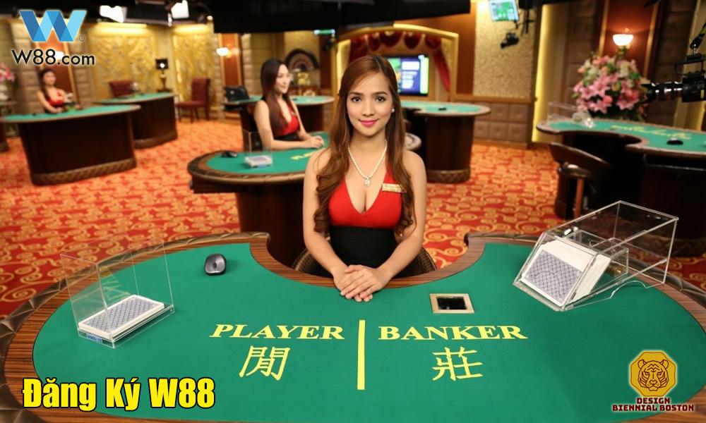 Link đăng ký tài khoản nhà cái W88